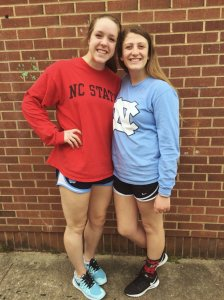 Anna Credle and Abby Bowyer
