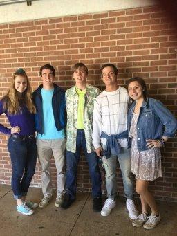 Jessie Spano (Ashlyn Worthington); A.C. Slater (Reid Proctor); Screech (Ryan Cassas); Zack Morris (Asher Queen); Kelly Kapowski (Avery Andolina)