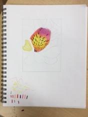 Heather- Flower Sketch