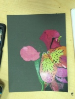 Heather- Flower Unfinished