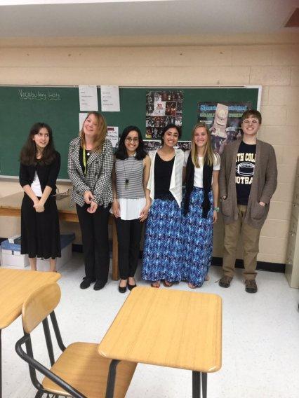 Lindsey Styron; Saianna Henry; Shaily Shah; Siona Benjamin; Lauren Mobley; Ben Roberts