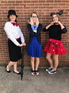 Abby Bowyer; Dory - Alyssa Chiccotella; Minnie Mouse - Abby Young