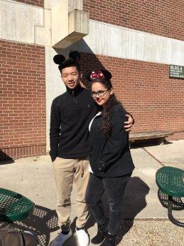 Ivan Lin and Gianna Pennisi