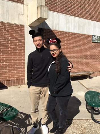 Ivan Lin and Gianna Pennisi