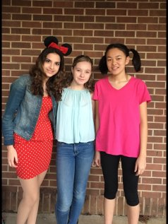 Minnie Mouse (Melissa Patrocinio); Julianne Chatham; Boo (Julie Woods)