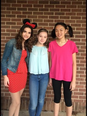 Minnie Mouse (Melissa Patrocinio); Julianne Chatham; Boo (Julie Woods)