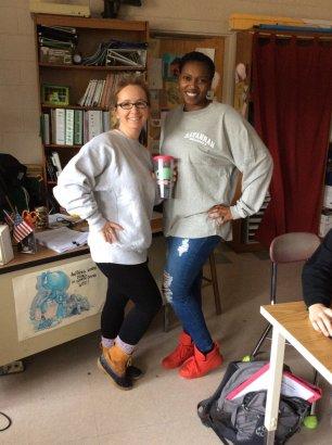 Mrs. Caudill and Ms. Robinson