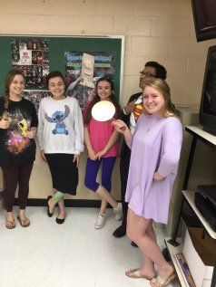 SpongeBob (Kayla Snare); Stitch (Alyssa Killingsworth); Boo (Ashley McDaniel); Superman (Sam Joseph); Rapunzel (Maddie Wilson)