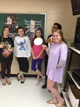 SpongeBob (Kayla Snare); Stitch (Alyssa Killingsworth); Boo (Ashley McDaniel); Superman (Sam Joseph); Rapunzel (Maddie Wilson)